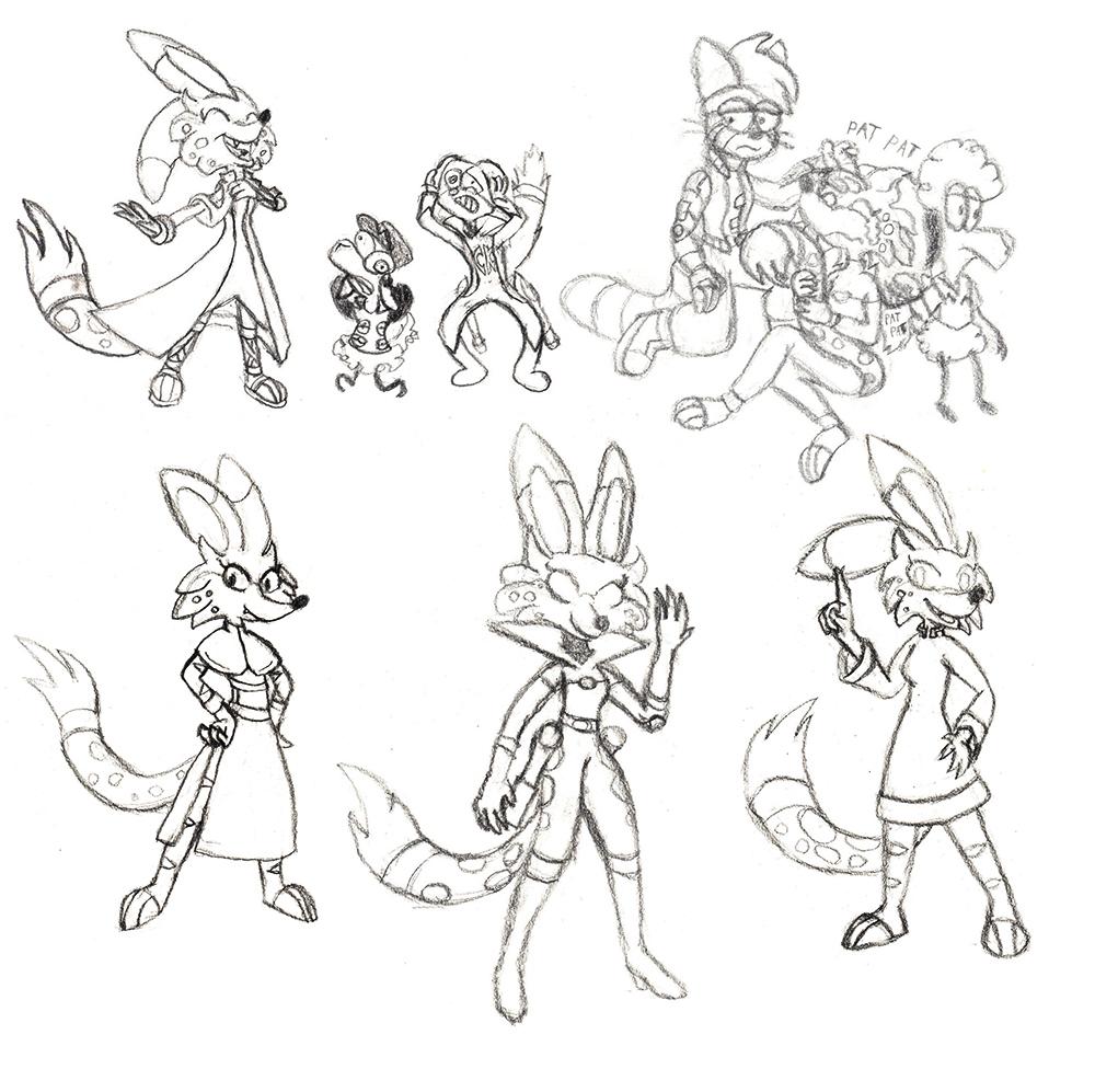 Zenith sketches